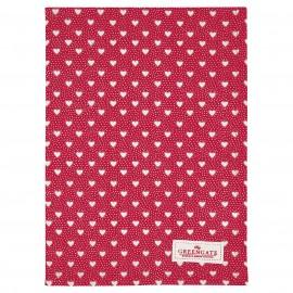 Asciugamano - Tea towel Penny red