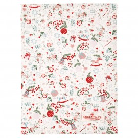 Asciugamano - Tea towel Carol white