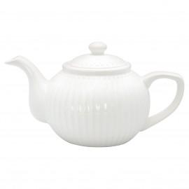 Teiera - Teapot Alice white