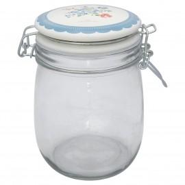 Vaso - storage jar Henrietta pale blue 0,75 l