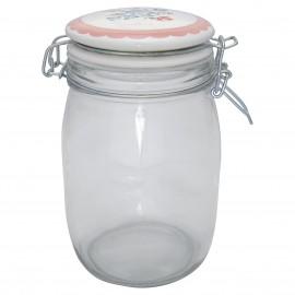 Barattolo - Storage jar Henrietta pale pink 1 l