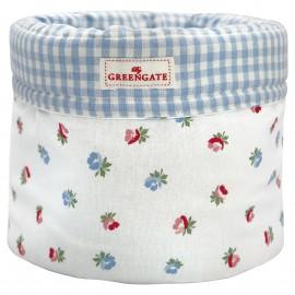 Cesto pane - Bread basket Viola white