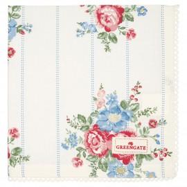 Asciugamano - Tea towel Henrietta white