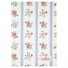 Asciugamano - Tea towel Evie white