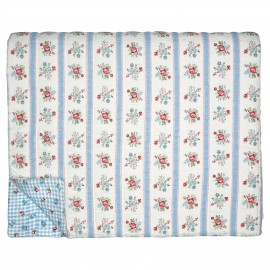 Trapunta - Bed cover Evie white 140 x 220