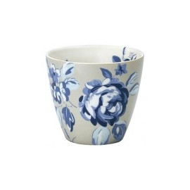 Latte cup Amanda dark blue