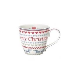 Mug December red