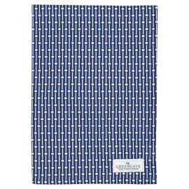 Tea towel Dawn blue