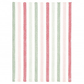 Tea towel Andrea white