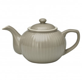 Teapot Alice warm grey