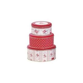 Tin Box Round Vilma set of 3pcs.