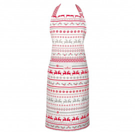 Apron Ivy white pieceprinted