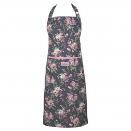 Apron Maude dark grey