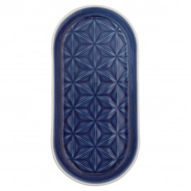 Tray Kallia dark blue small