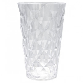 Water glass clear large
