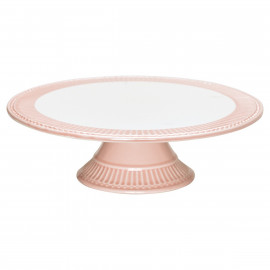 Cake plate Alice pink