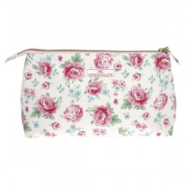 Cosmetic bag large Meryl white