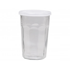 French latte glass