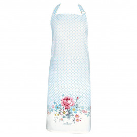 Apron pieceprinted Marie pale grey