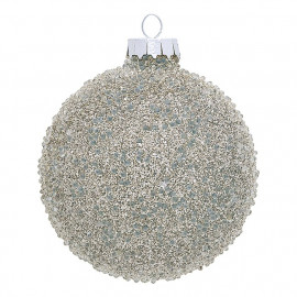Ball Glass Flora glitter