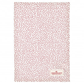 Tea towel Dot white