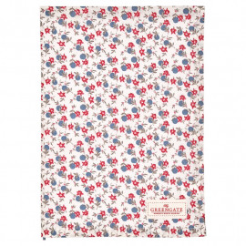 Tea towel Helena white