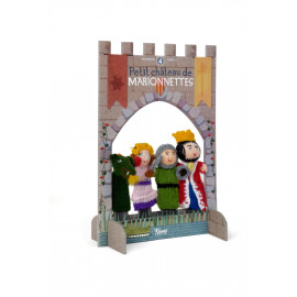 Wool Finger Puppet Princesse & Chevalier