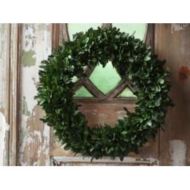 Fleur Wreath boxwood