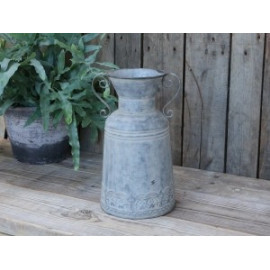 French Zinc jug with deco