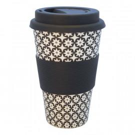 Travel mug Lara black