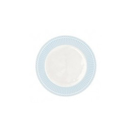 Dinner plate Alice pale blue