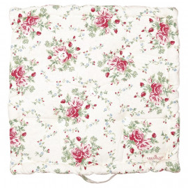 Box Cushion Mary White 50x50 cm