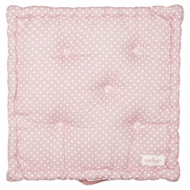 Box Cushion Spot Pale Pink 50x50 cm