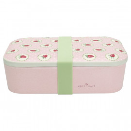 Lunch Box Strawberry Pale Pink