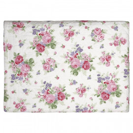 Bed Cover Rose White 180x230 cm