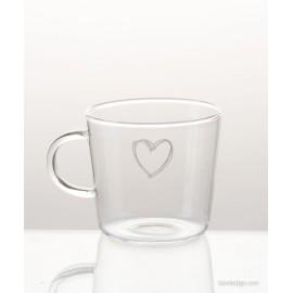 Tazza Mug in vetro