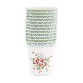 Bicchierini di carta - Cup Abelone mint 12 pz