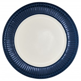 Piatto - Dinner plate Alice dark blue