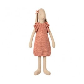 MAILEG BUNNY SIZE 5, KNITTED DRESS