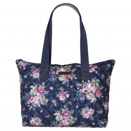 Nylon Bag Rose dark blue
