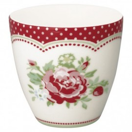 Tazzina da caffè - Mini latte cup Mary white