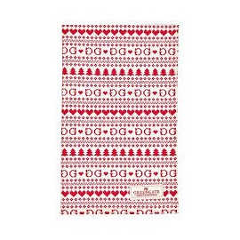 Asciugamano - tea towel December red