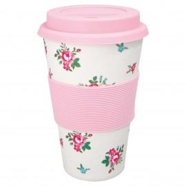 Travel mug Constance white