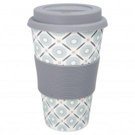 Travel mug Alva white
