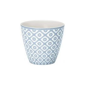 Latte cup Bianca Dusty blue
