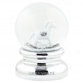 Snowglobe silver large