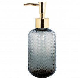 Soap Dispenser grey w/cutting