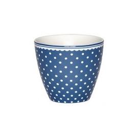 Latte cup Spot indigo
