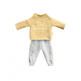 Best friends jogging suit yellow