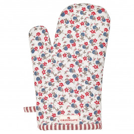 Grill glove Helena white